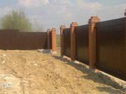 Строительство и установка забора,  ворот в Орше - foto 2